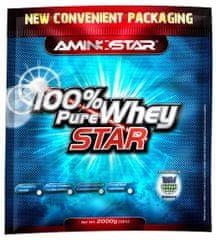 Aminostar 100% Pure Whey Star 2000g jahoda