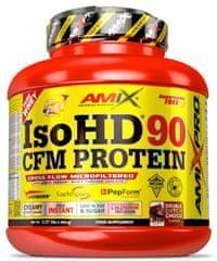 Amix Nutrition IsoHD 90 CFM Protein 1800g mocca - čokoláda - káva