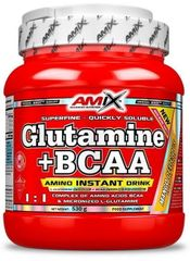 Amix Nutrition L-Glutamine + BCAA Powder 530g ananas