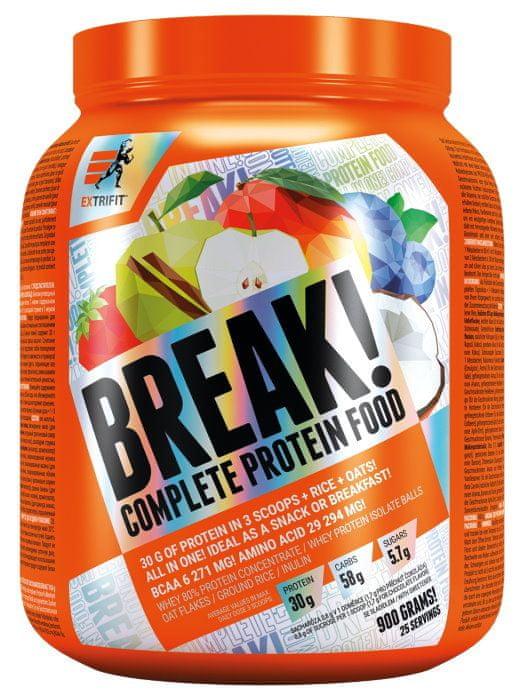 Extrifit Protein Break! 900 g jablko - skořice