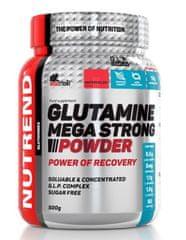 Nutrend Glutamine Mega Strong Powder 500g ovocný punč + brusinka
