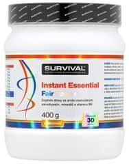 Survival Instant Essential Fair Power 400g broskev