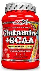 Amix Nutrition L-Glutamine + BCAA Powder 1000g ananas