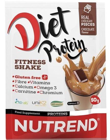 Nutrend Diet Protein 5×50g