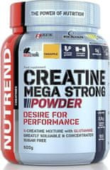 Nutrend Creatine Mega Strong Powder 500 g ananas