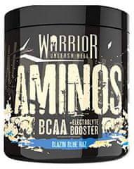 Warrior Aminos BCAA Powder 360g modrá malina