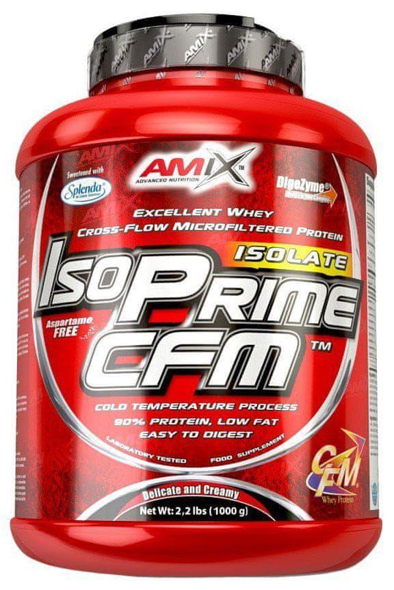 Amix Nutrition IsoPrime CFM Isolate 1000 g jablko - skořice