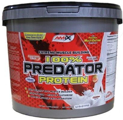 Amix Nutrition 100% Predator 4000 g jahoda