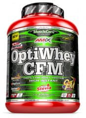 Amix Nutrition MuscleCore OptiWhey CFM Instant Protein 2250g bilá čokoláda
