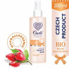 Onclé BIO Dětský vyživující tělový olej ONCLÉ 200ml
