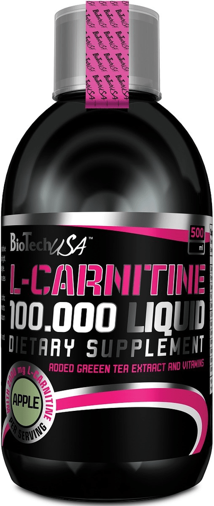 BioTech USA L-Carnitine Liquid 100000 500 ml višeň