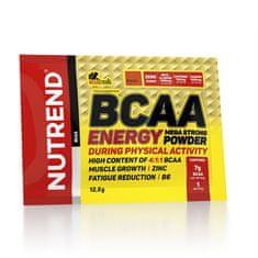 Nutrend BCAA Energy Mega Strong Powder 12,5g malina