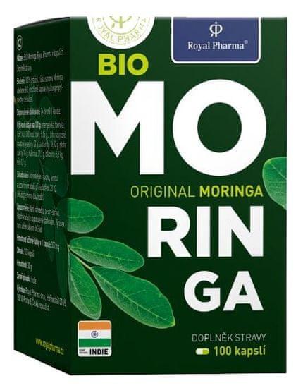 Royal Pharma BIO Moringa 100kapslí