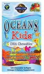 Garden of Life Ocean Kids DHA Omega 3 pro děti 120kapslí