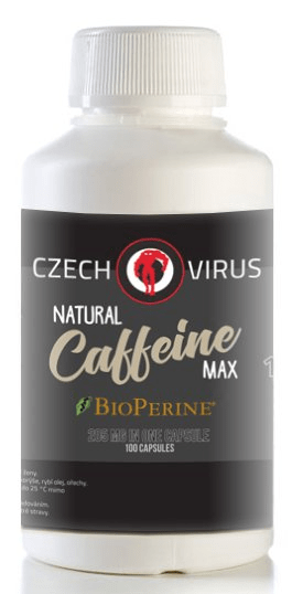 Czech Virus Natural Caffeine Max 100 kapslí