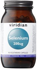 VIRIDIAN nutrition Selenium 200μg (Selén) 90kapsúl