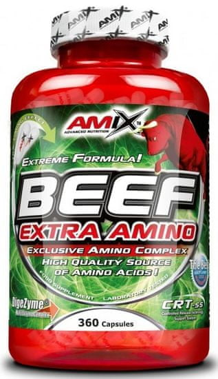 Amix Nutrition Beef Extra Amino 360kapslí