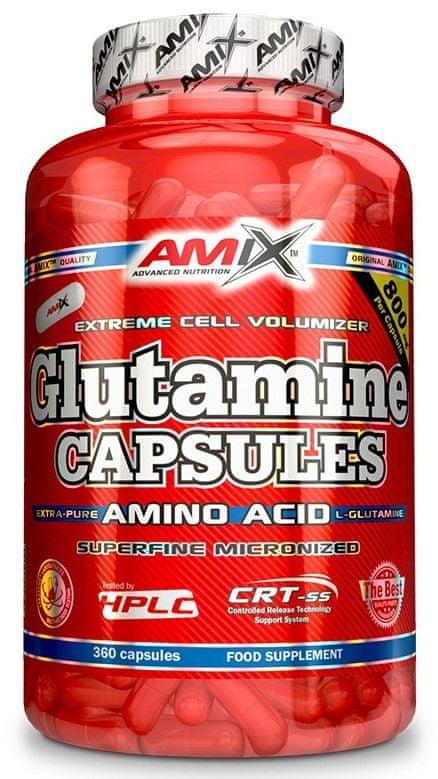 Amix Nutrition Amix L-Glutamine 120 kapslí