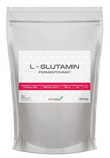 Fitiren L-Glutamin 500g