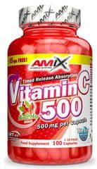 Amix Nutrition Vitamin C 500mg 125kapslí