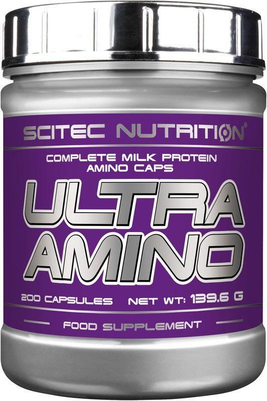 Scitec Nutrition Ultra Amino 200 kapslí