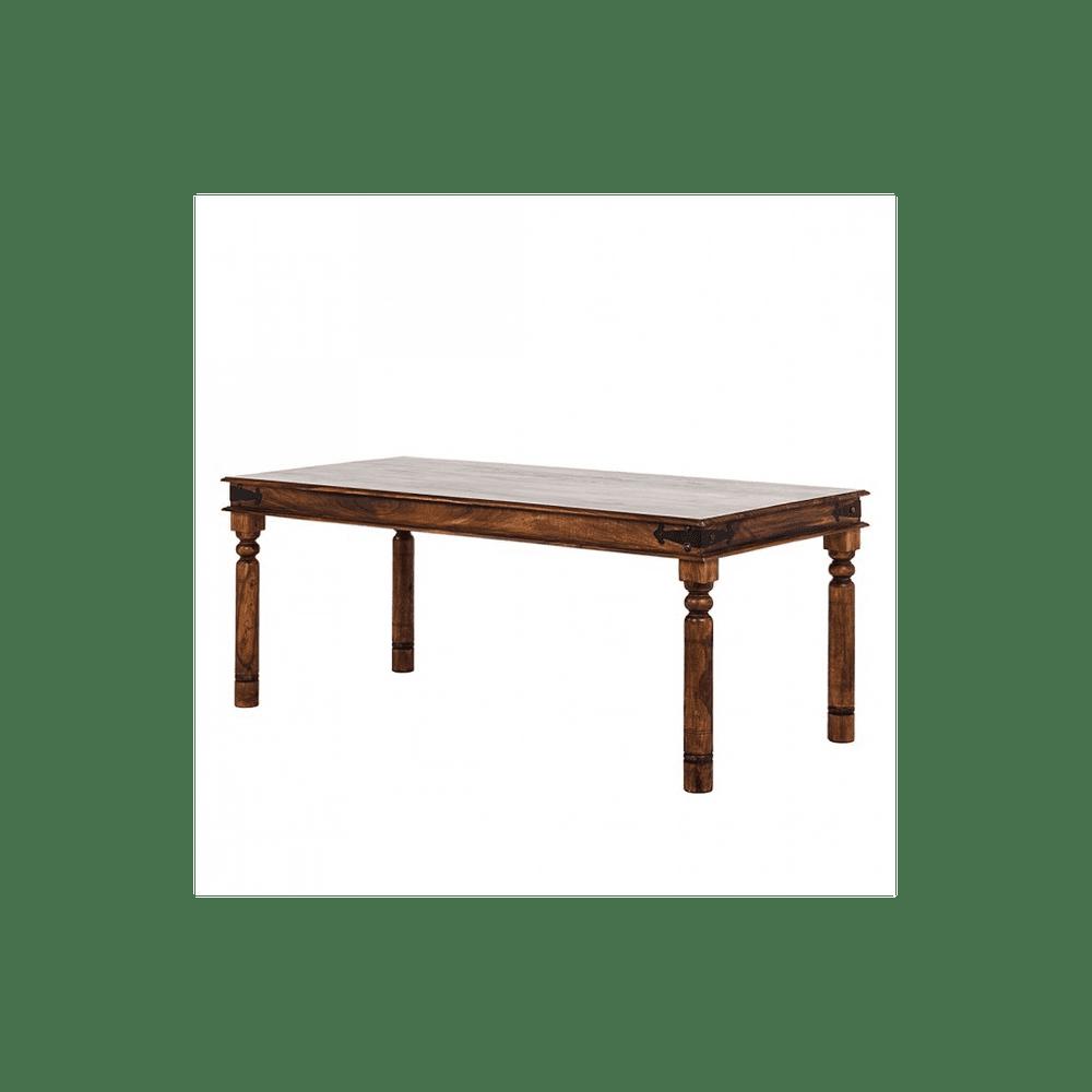 LAKŠMI Jídelní stůl Jali140x90 z indického masivu palisandr, Natural