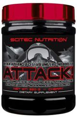 Scitec Nutrition Attack! 320g višeň