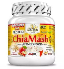 Amix Nutrition Protein ChiaMash 600g jablko - škorica - hrozienka