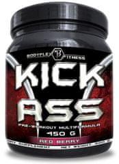 Bodyflex Fitness Kick Ass Pre-workout Multiformula 450g tropické ovoce