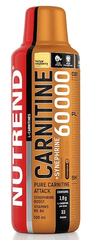 Nutrend Carnitine 60000 + Synephrine 500ml žlutá malina