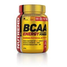 BCAA Energy Mega Strong Powder 500g pomeranč