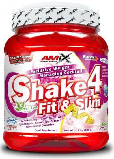Amix Nutrition Shake 4 Fit&Slim 500g