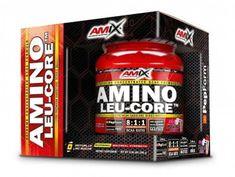 Amix Nutrition Amino LEU-CORE 8:1:1 390g ovocný punč