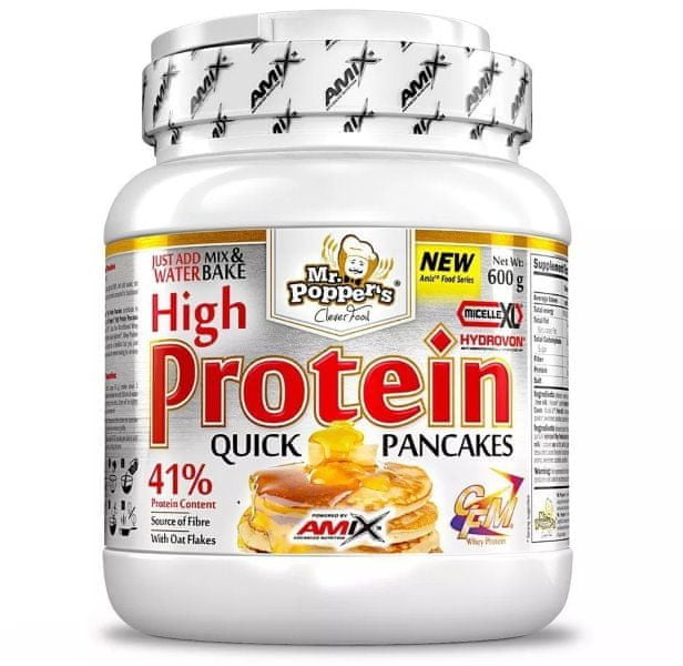 Amix Nutrition High Protein Pancakes 600 g čokoláda - kokos