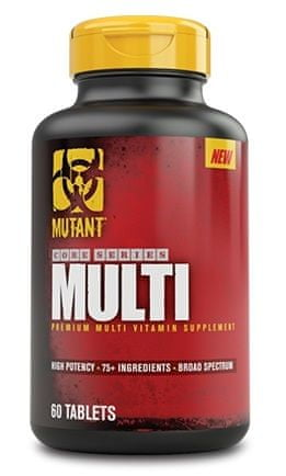 Mutant Core Series Multi 60tablet