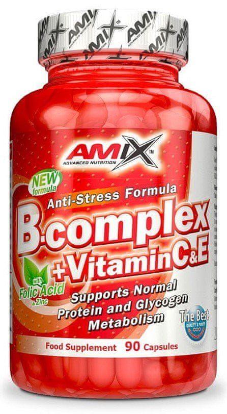 Amix Nutrition Amix B-Complex + vitamín C 90 tablet