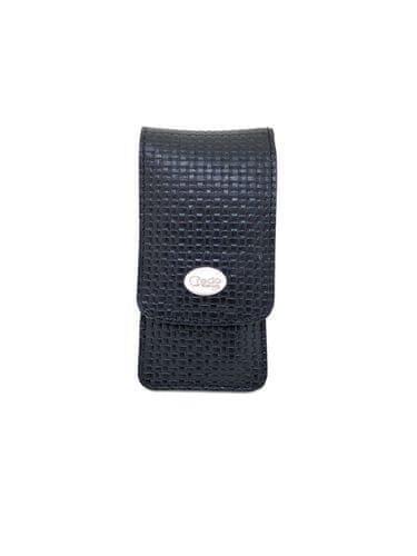 Credo Solingen Luksuzna 4-delna manikura v črni usnjeni torbi Noble Black