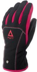 Matt 3199JR Patricia Junior Gore-Tex dječje skijaške rukavice, crno-roza, XL