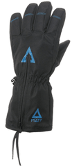Matt 3211 Doo Wp Zipper dječje skijaške rukavice, crne, M