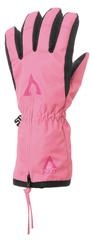Matt rękawiczki zimowe dziewczęce DOOD KIDS WP ZIPPER 104/110 różowy