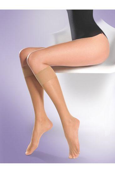 Gabriella Női térdzokni és zokni 504 super nocciola + Nőin zokni Gatta Calzino Strech
