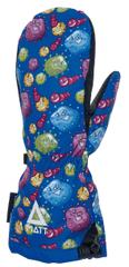 Matt rękawiczki zimowe chłopięce BUBBLE MONSTERS KIDS TOOTEX M niebieski