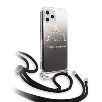 Karl Lagerfeld Gradient Kryt pro iPhone 11 (EU Blister), KLHCN61WOGRBK