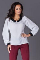 Figl Ženska bluza M123 ecru, kremna, S