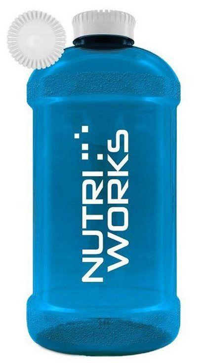 NutriWorks Barel na vodu 2200 ml růžový