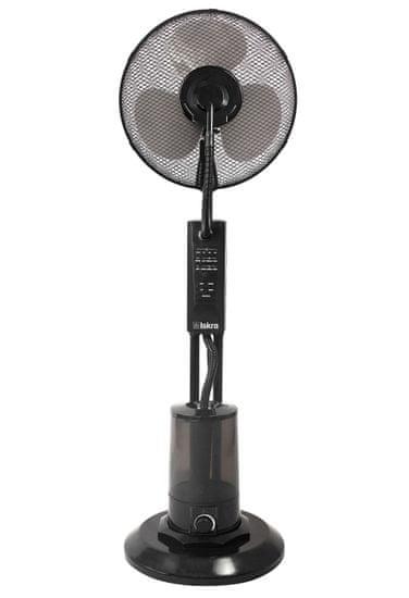 Iskra FP-1601S ventilator z razprševanjem, črn