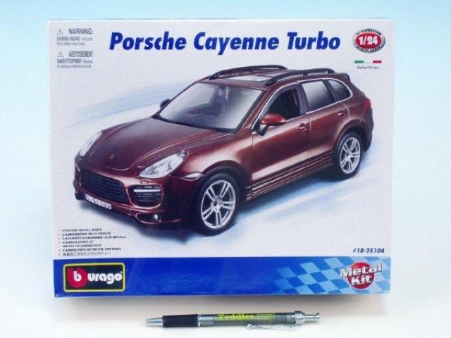 BBurago KIT Porsche Cayenne Turbo 1:24