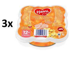 Hami Těstoviny s dušenou kýtou a rajčaty - 3x230g