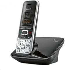 Gigaset -S850 - DECT/GAP bezdrátový telefon, barva černá