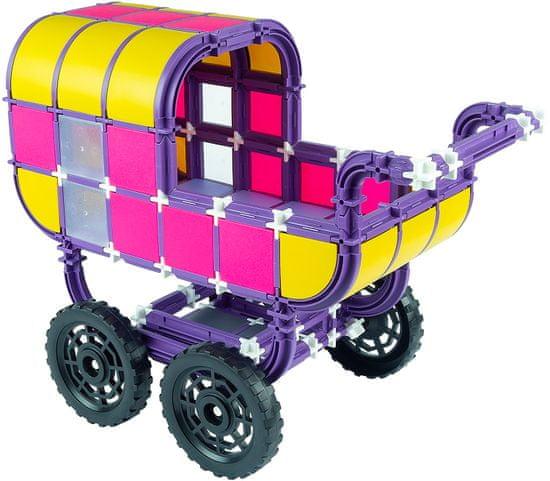 Seva zestaw Wózek rodzinny z tworzywa sztucznego 293 elementy